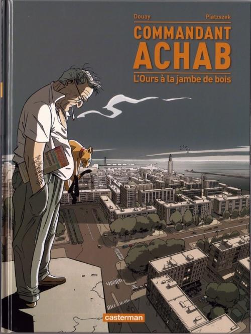 Couverture Commandant Achab, tome 3 : L'ours à la jambe de bois