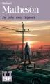 Couverture Je suis une légende Editions Folio  (SF) 2013