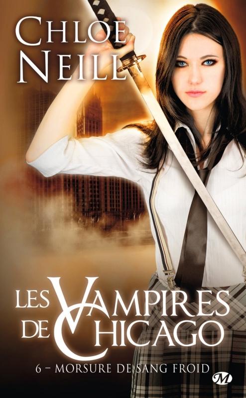 Couverture Les vampires de Chicago, tome 06 : Morsure de sang froid
