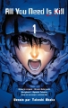 Couverture All you need is kill, tome 1 Editions Kazé (Seinen) 2014