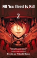 Couverture All you need is kill, tome 2 Editions Kazé (Seinen) 2014