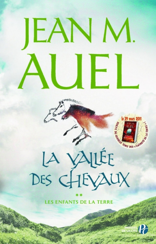 Couverture Les enfants de la Terre, tome 2 : La vallée des chevaux