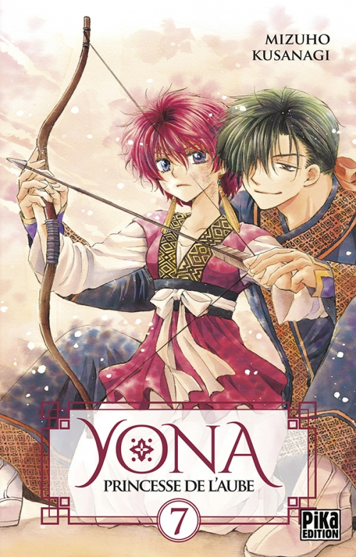 Couverture Yona, princesse de l'aube, tome 07