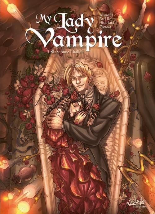 Couverture My Lady Vampire, tome 3 : Sonnez l'Hallali