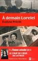 Couverture À demain Lorelei Editions Les Nouveaux auteurs 2015
