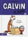 Couverture Calvin et Hobbes, tome 21 : Je suis trop génial Editions Hors collection 2013