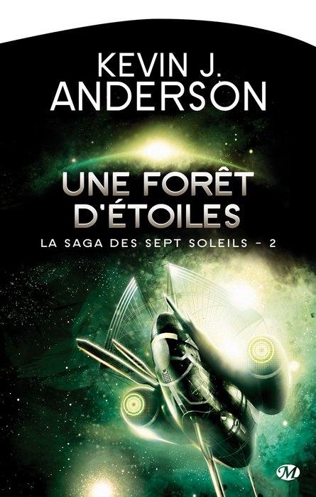 Couverture La saga des Sept Soleils, tome 2 : Une forêt d'étoiles