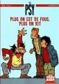 Couverture Les Psy : Plus on est de fous, plus on rit Editions Dupuis 2007