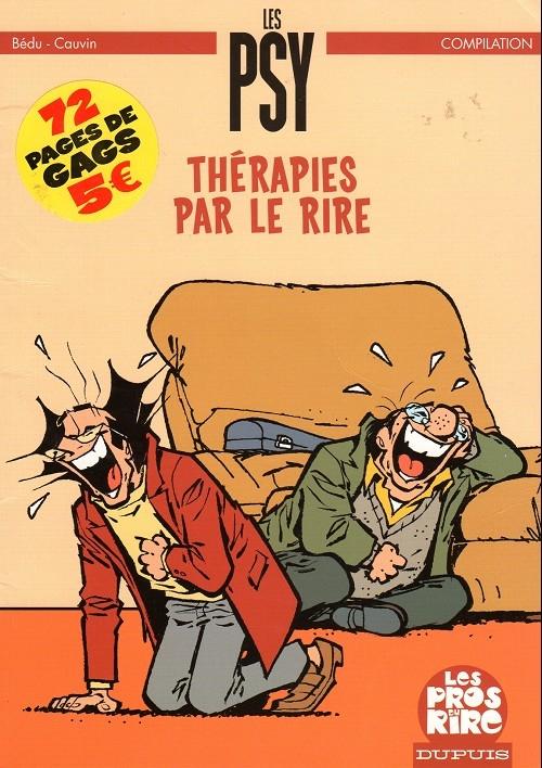 Couverture Les Psy : Thérapies par le rire