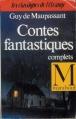 Couverture Contes Fantastiques Complets Editions Marabout 1992
