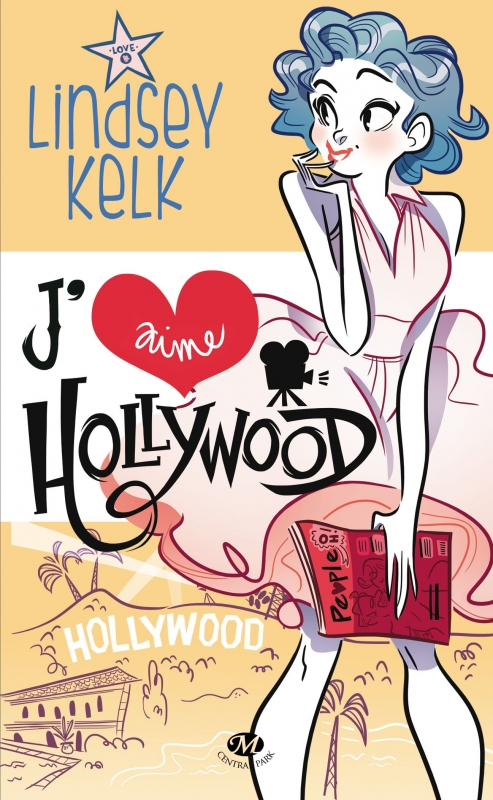 Couverture J'aime Hollywood