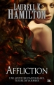 Couverture Anita Blake, tome 22 : Affliction Editions Bragelonne 2015