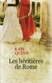 Couverture Les héritières de Rome Editions France loisirs 2015