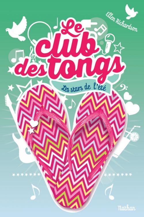 Couverture Le club des tongs / Le club des Gougounes, tome 4 : Les stars de l'été