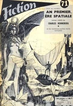 Couverture Fiction, tome 071: An premier, ère spatiale