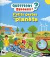 Couverture Petits gestes pour la planète Editions Nathan 2015