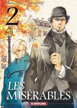 Couverture Les Misérables (manga), tome 2