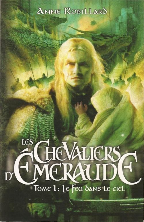 Couverture Les Chevaliers d'Émeraude, tome 01 : Le Feu dans le ciel