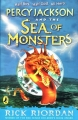 Couverture Percy Jackson, tome 2 : La mer des monstres Editions Puffin Books 2007