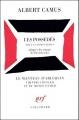 Couverture Les possédés Editions Gallimard  (Le manteau d'Arlequin) 2000