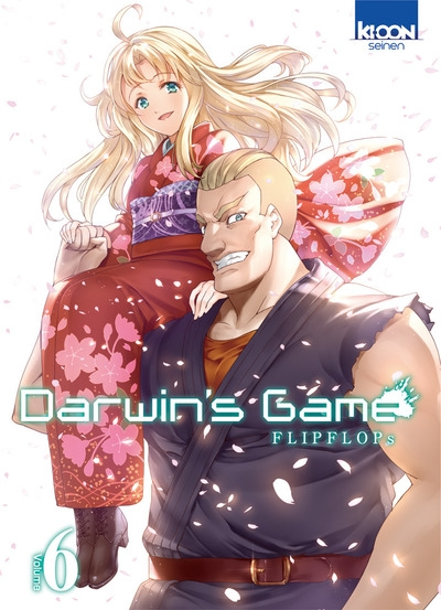 Couverture Darwin's Game, tome 06