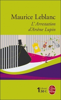 Couverture L'arrestation d'Arsène Lupin
