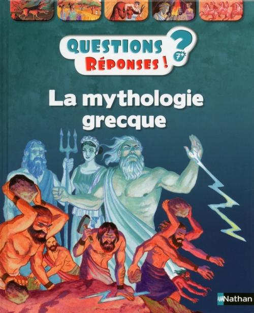 Couverture La mythologie grecque