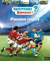 Couverture Passion rugby Editions Nathan 2015