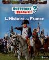 Couverture L'histoire de France Editions Nathan 2015