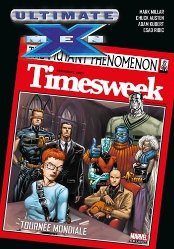 Couverture Ultimate X-Men, tome 02 : Tournée mondiale