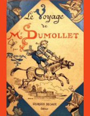 Couverture Le voyage de Dumollet