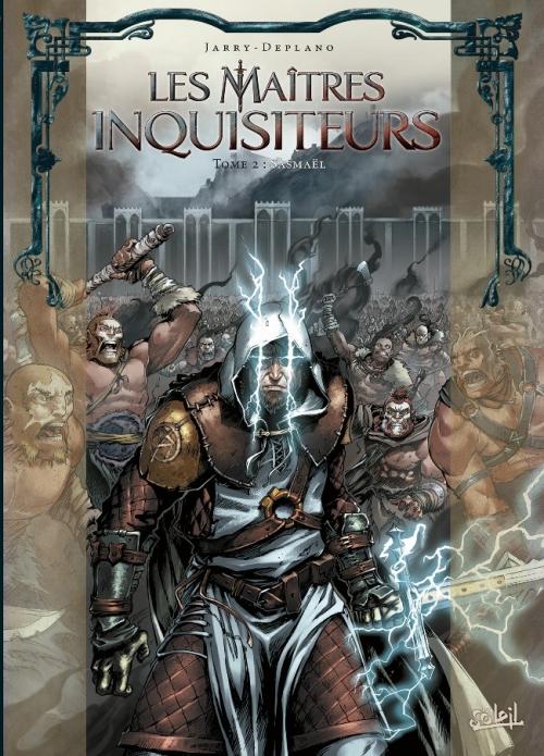 Couverture Les maîtres inquisiteurs, tome 02 : Sasmaël