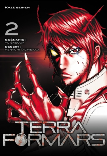 Couverture Terra Formars, tome 02