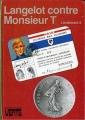 Couverture Langelot contre monsieur T Editions Hachette (Bibliothèque verte) 1967