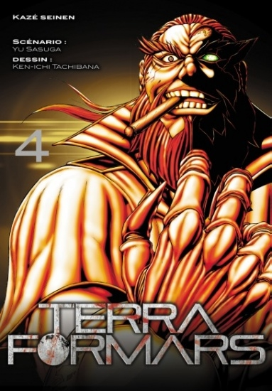 Couverture Terra Formars, tome 04