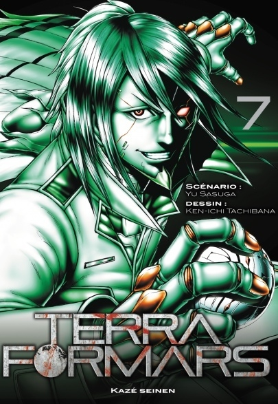 Couverture Terra Formars, tome 07