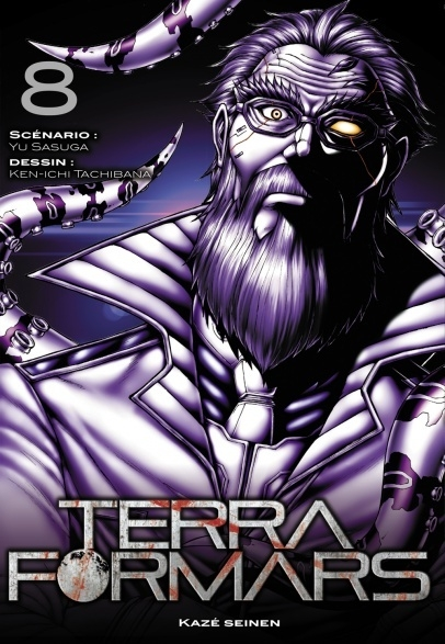 Couverture Terra Formars, tome 08