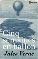 Couverture Cinq semaines en ballon Editions Feedbooks 2015