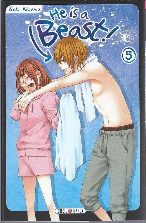 Couverture He is a beast !, tome 05