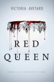 Couverture Red queen, tome 1 Editions HarperCollins 2015
