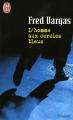 Couverture L'homme aux cercles bleus Editions J'ai Lu 1996