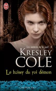 Couverture Les Ombres de la nuit, tome 06 : Le baiser du roi démon