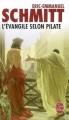 Couverture L'évangile selon Pilate Editions Le Livre de Poche 2006