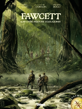 Couverture Fawcett : Les cités perdues d'Amazonie