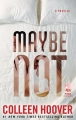 Couverture Maybe not Editions Atria Books 2014