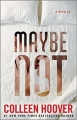 Couverture Maybe not Editions Atria Books 2015