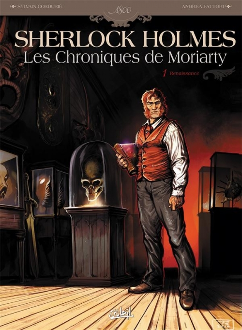 Couverture Sherlock Holmes : Les Chroniques de Moriarty, tome 1 : Renaissance