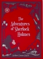 Couverture Sherlock Holme, tome 3 : Les aventures de Sherlock Holmes Editions Barnes & Noble (Barnes & Noble Leatherbound Classics Series) 2014