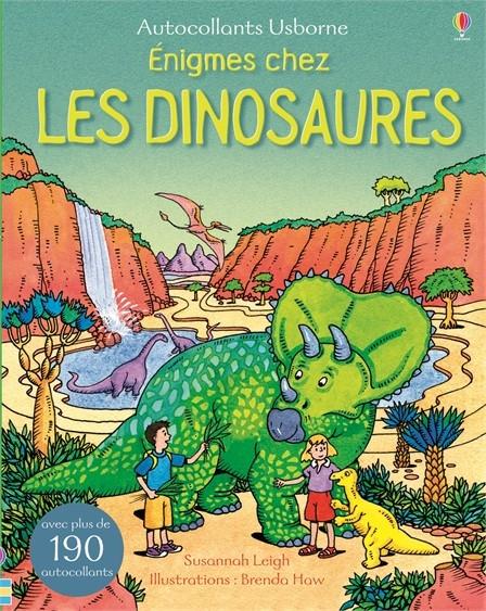Couverture Enigmes chez les dinosaures