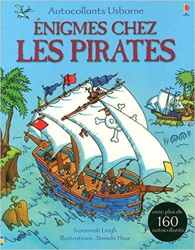 Couverture Enigmes chez les pirates